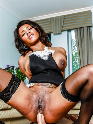 Perfect Black Cock For Two Milfs